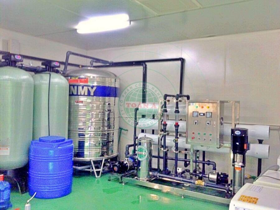 Hệ thống xử lý nước Ro 5m3.h Mcnex-ninh bình
