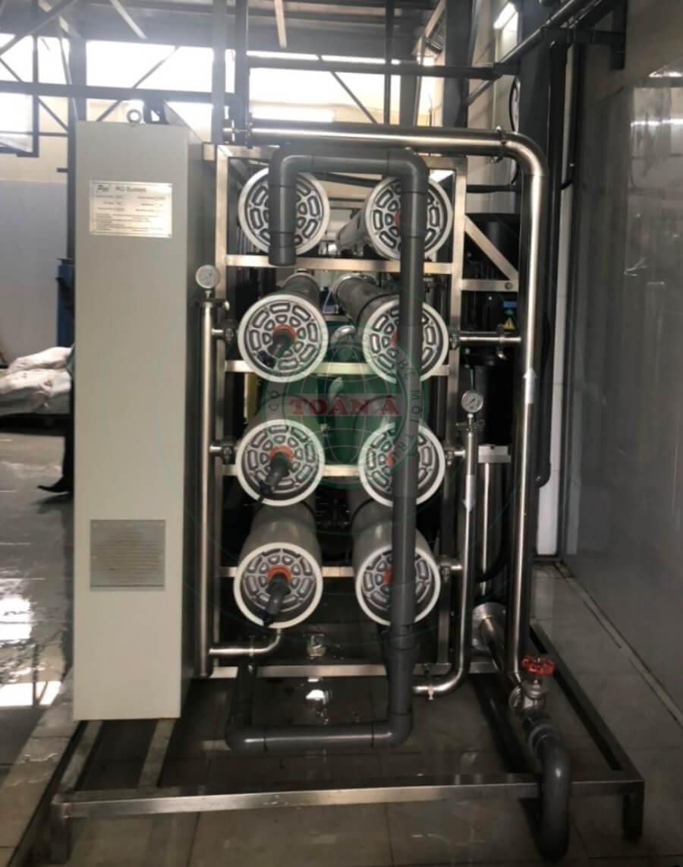 Hệ thống xử lý nước DI 25m3/h cho công ty Cleantech