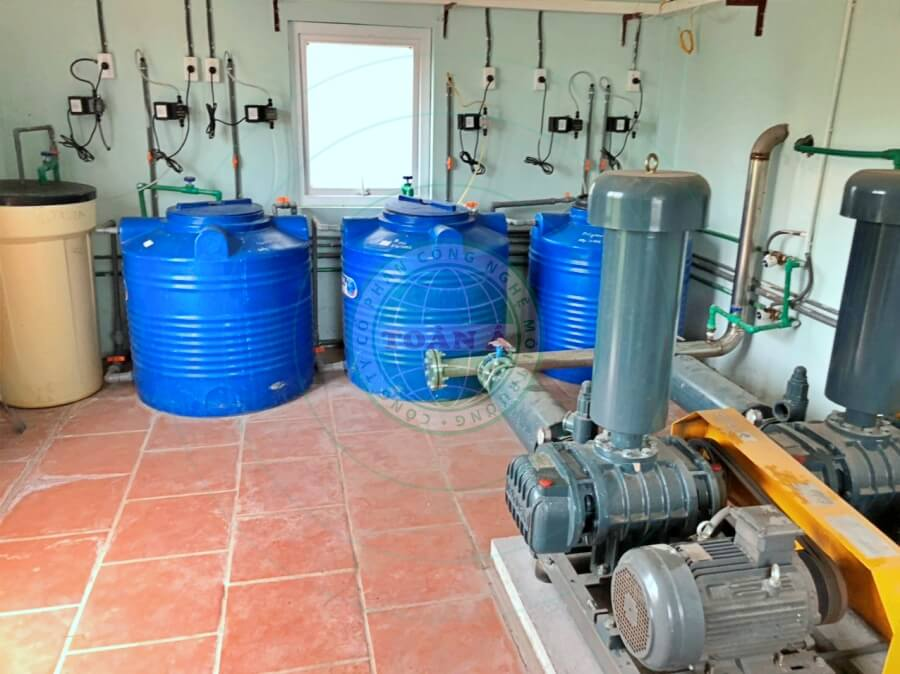 Hệ thống xử lý nước thải dươc hoa linh 115m3/ngày đêm