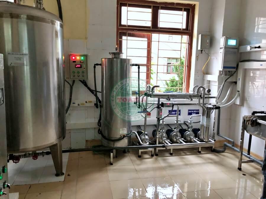 Hệ thống xử lý nước RO cho bệnh viện Tiên Yên - Quảng Ninh 800L/h