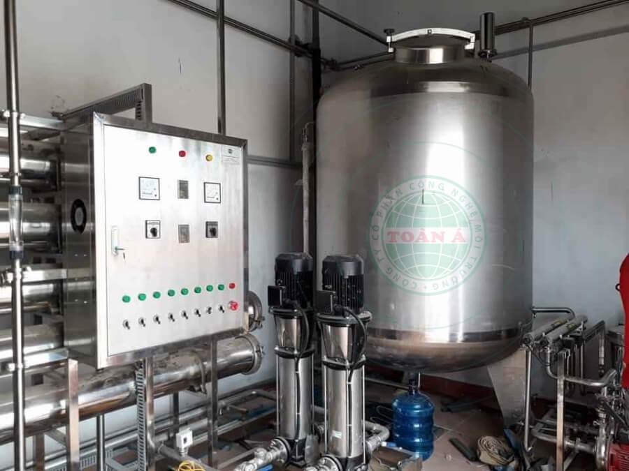 Hệ thống xử lý nước Ro Di cho Duoc Biospring 3000l/h