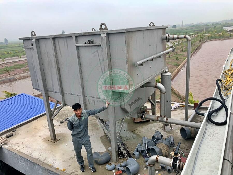 Hệ thống xử lý nước thải thực phẩm Biển đông 450m3/ngày