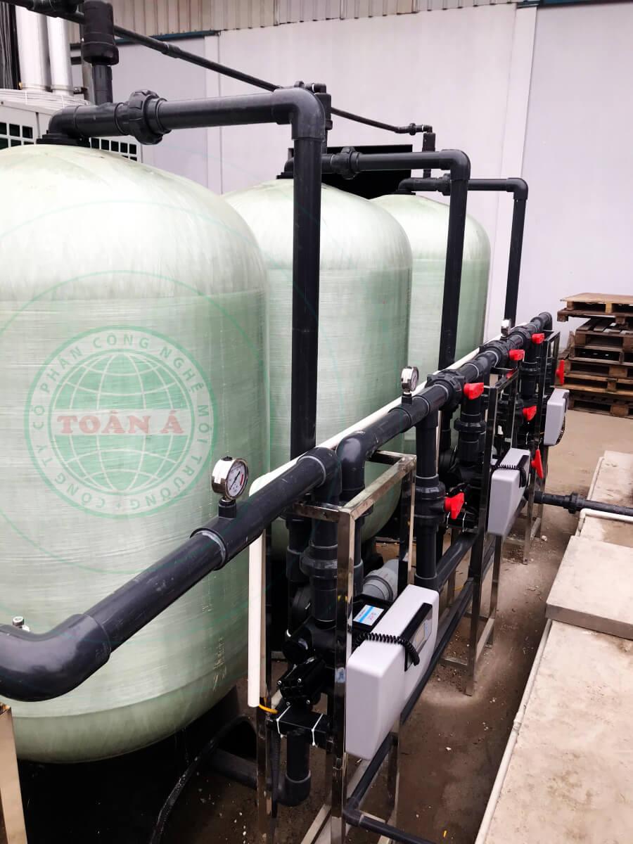 Hệ thống xử lý nước RO cho chế biến thực phẩm 7m3/h - Công ty Green chicken