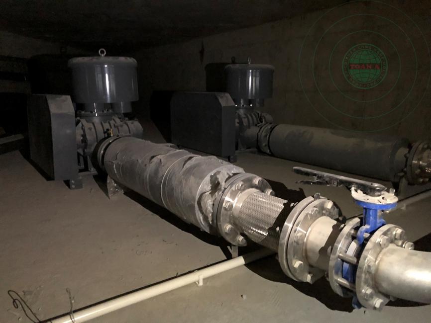 Xử lý nước thải sinh hoạt tòa nhà B7, 300m3/ngày đêm
