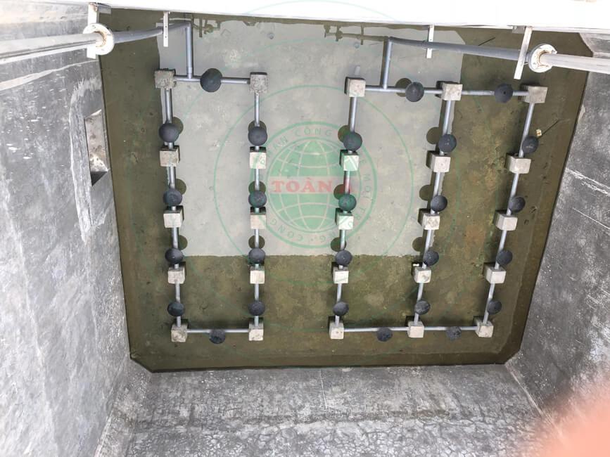 Hệ thống xử nước thải thép Đông Anh 77m3/ngày