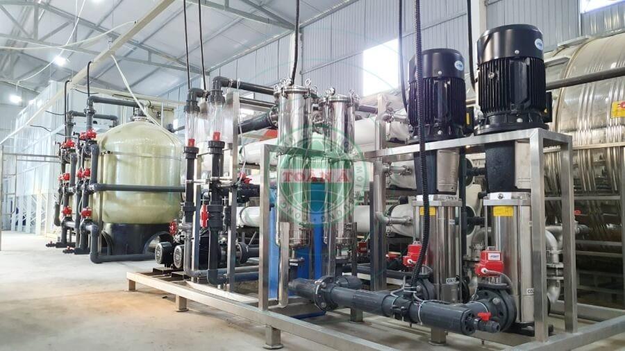 Xử lý nước RO cho ngành thực phẩm