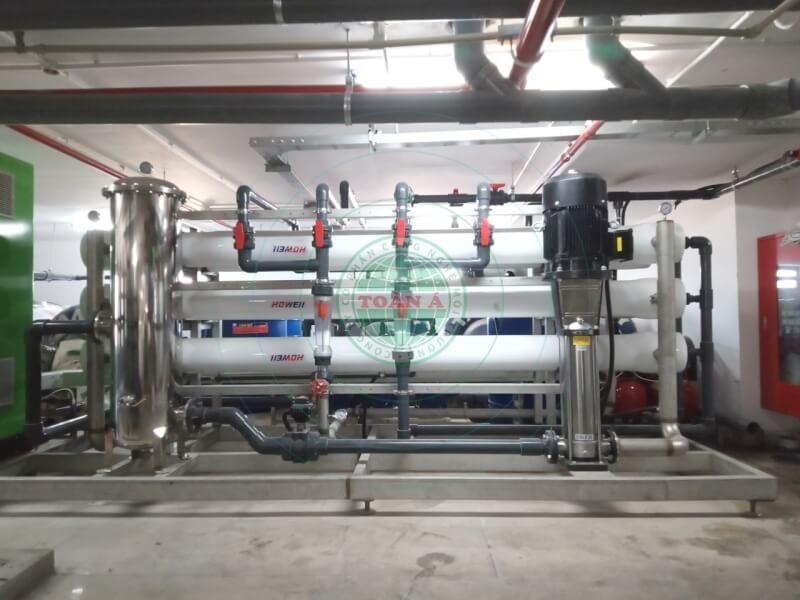 Hệ thống xử lý nước RO cho khách sạn