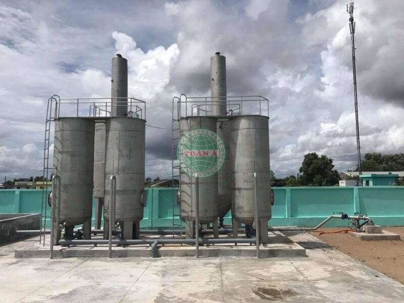 Hệ thống xử lý nước giếng khoan công nghiệp