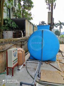 Hệ thống xử lý nước thải bằng bồn hợp khối composite