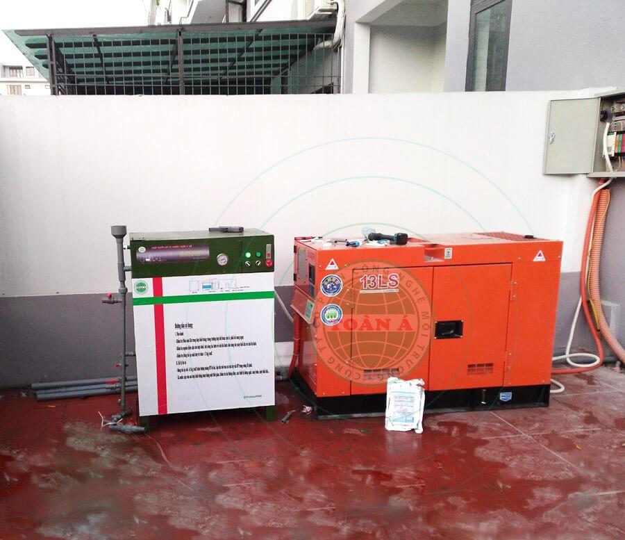 Hệ thống xử lý nước thải phòng khám nhỏ gọn