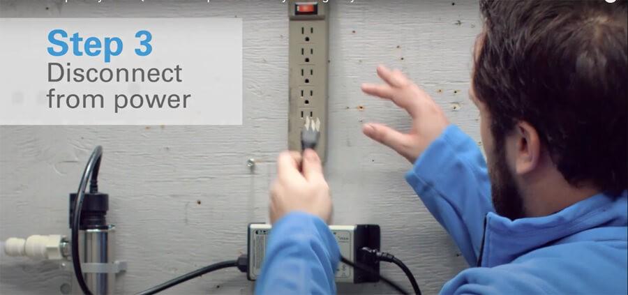 Ngắt nguồn điện