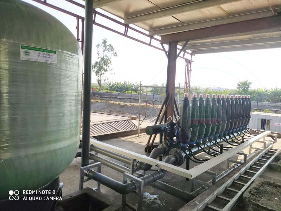 Hệ thống xử lý nước mặt sản xuất giấy