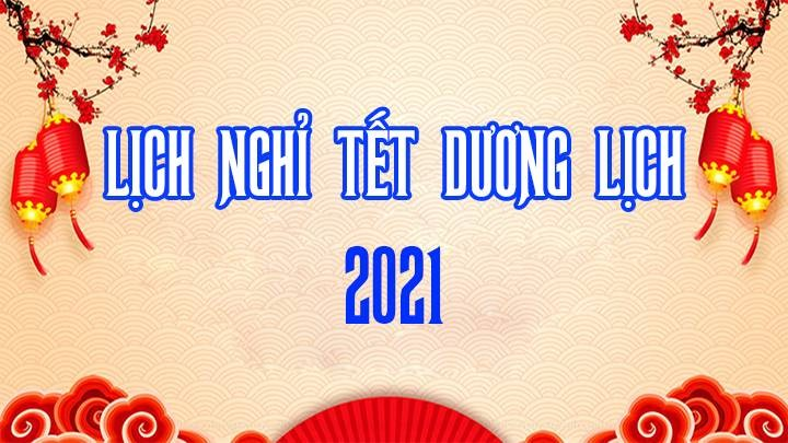 Lich Nghi Tet Duong Lich