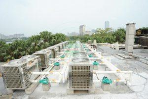 Hệ thống cấp nước nóng trung tâm công nghiệp