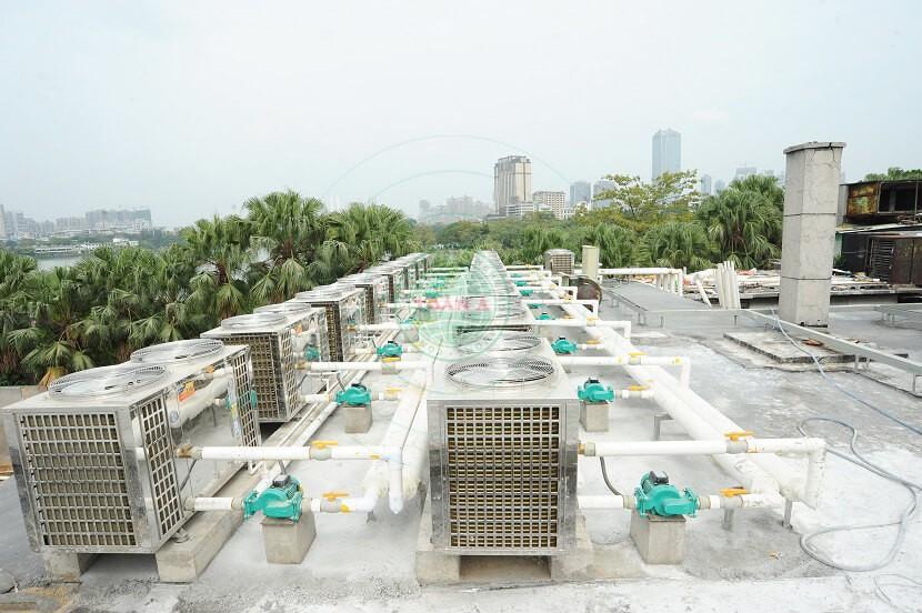 Hệ thống máy nước nóng trung tâm cho khách sạn