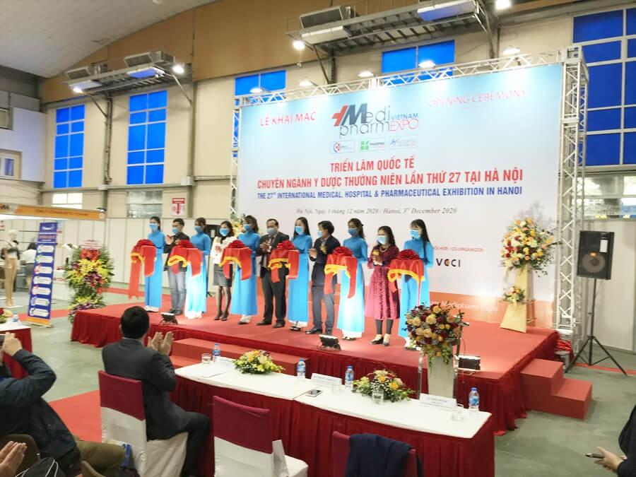 Khai mạc Triển lãm Y dược lần 27 tại Hà Nội