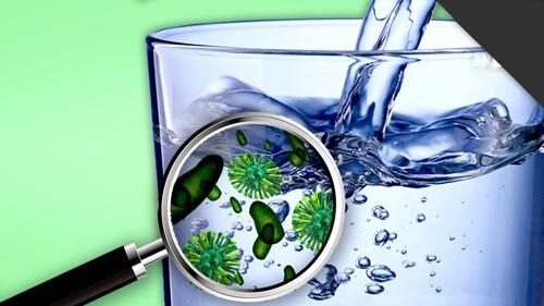 Vi sinh vật luôn tồn tại trong nước uống