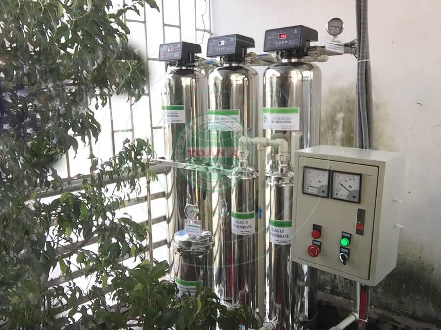Hệ thống xử lý nước cấp UF gia đình 1000L/h