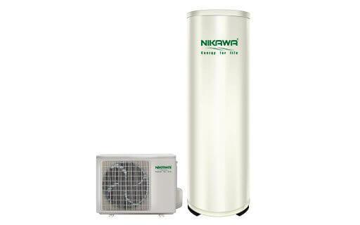 Thiết bị heat pump và bình bảo ôn thương hiệu Nikawa