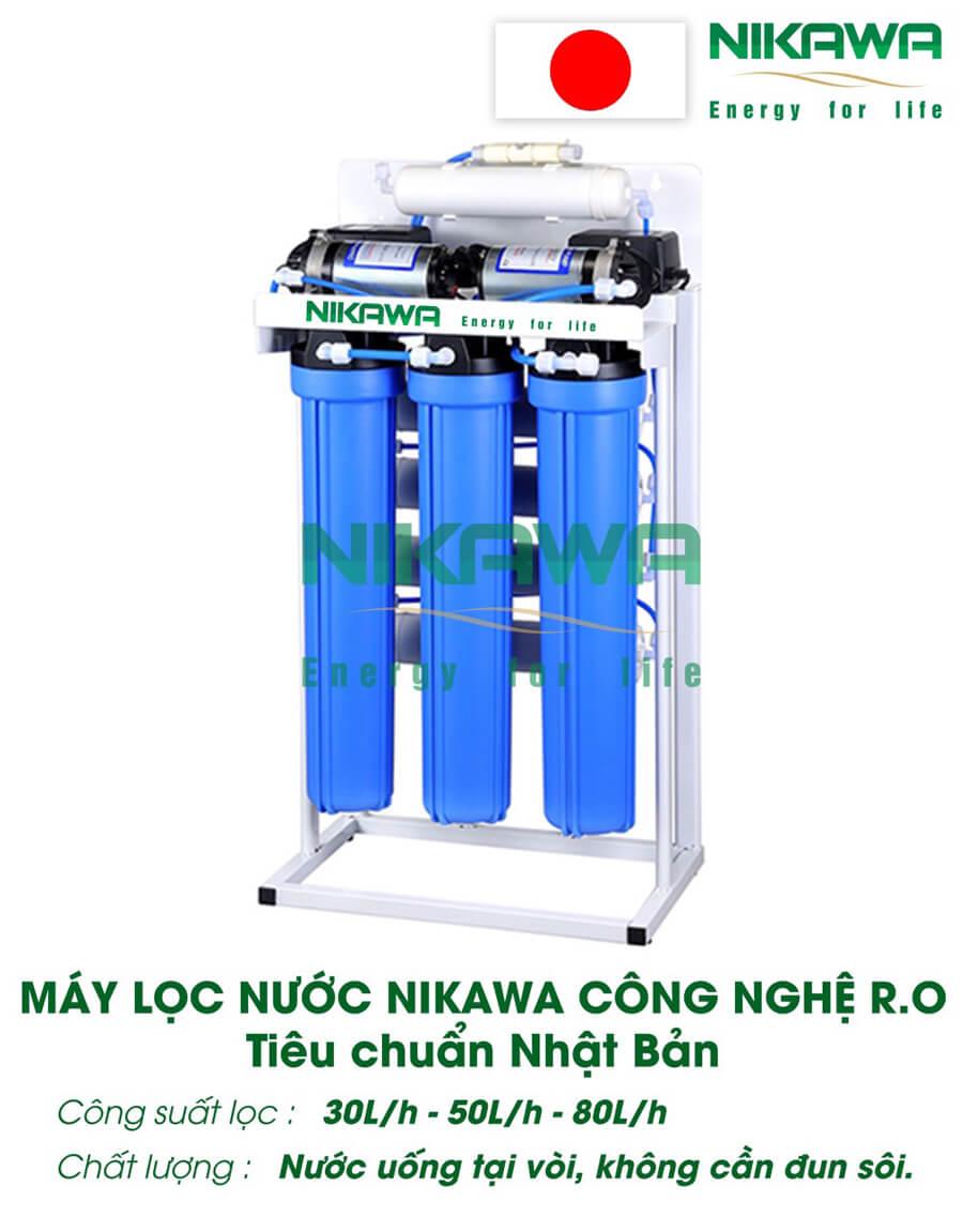 May Loc Nuoc Ro Nikawa 30 50 80l.h