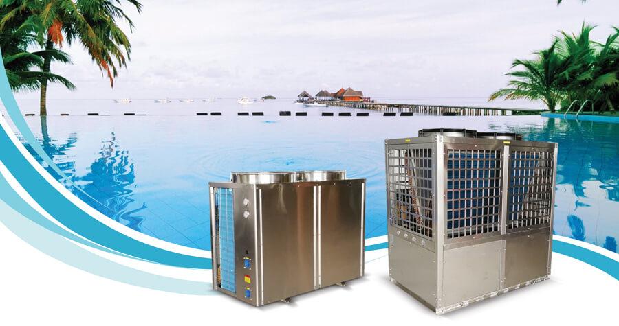Máy cấp nhiệt Heat pump Nikawa