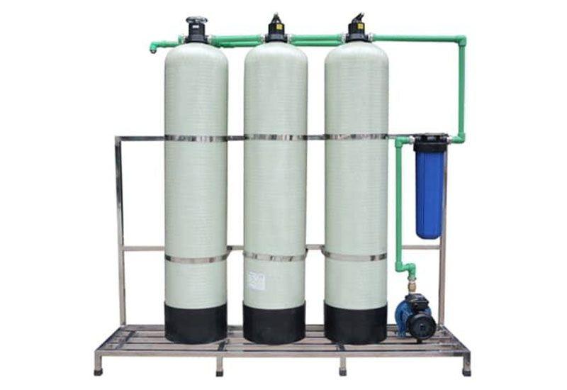 Các loại cột lọc nước tổng sinh hoạt