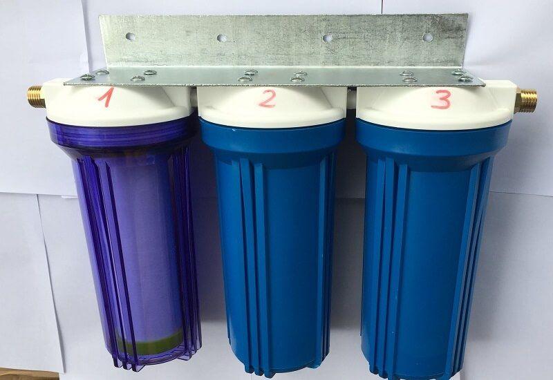 cấu tạo của bộ lọc nước 3 cấp