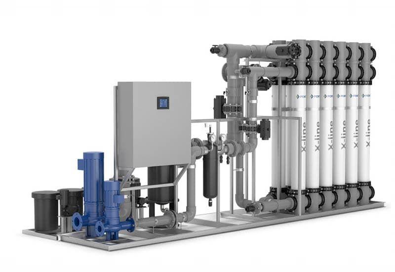 hệ thống lọc nước uf là gì