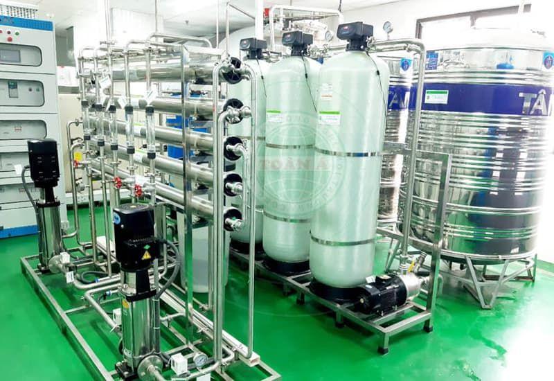 hệ thống xử lý nước cho dược phẩm