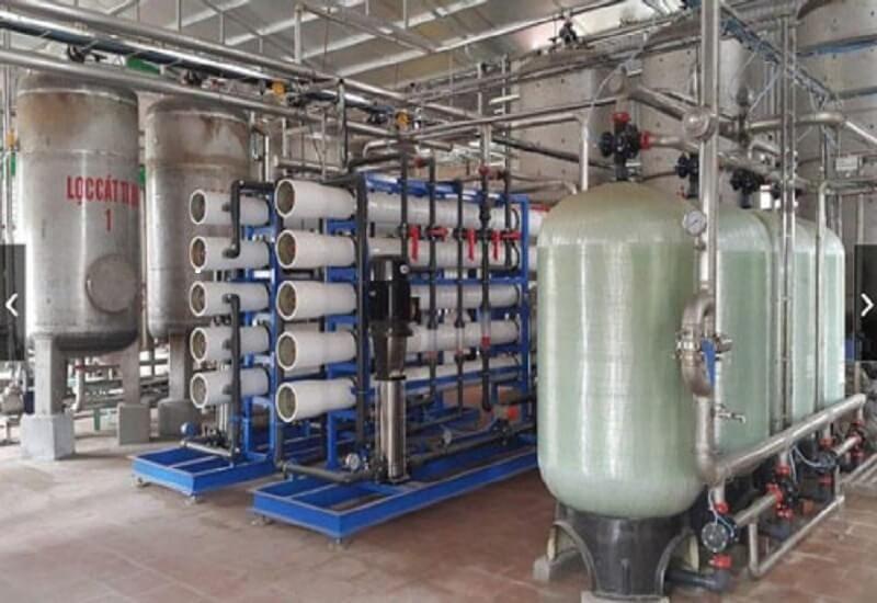Ứng dụng máy lọc nước RO công nghiệp