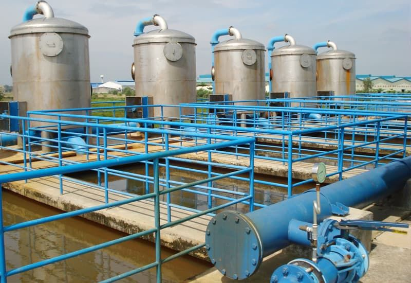 bể tách mỡ hệ thống xử lý nước thải khu dân cư