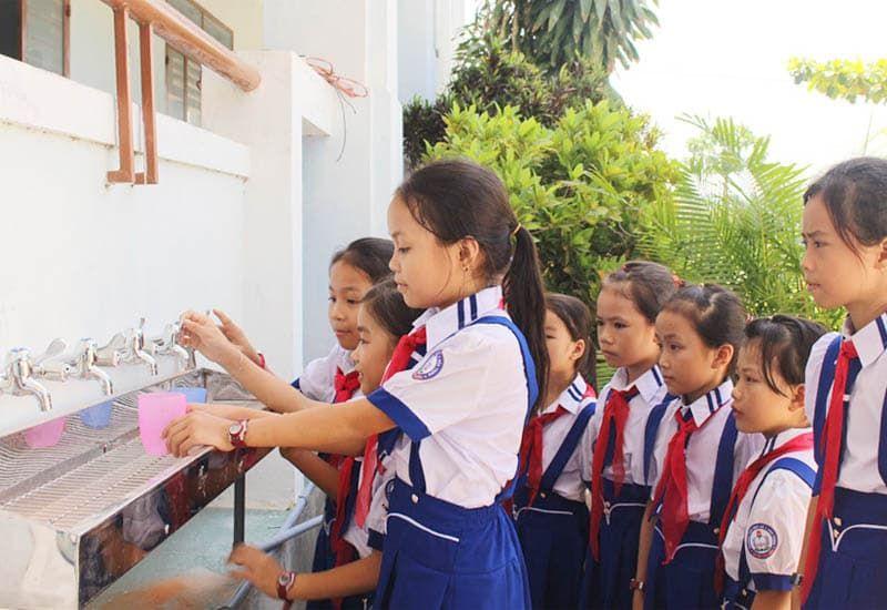 hệ thống lọc nước ro cho trường học