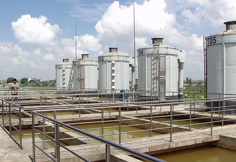 quy trình lắp đặt hệ thống xử lý nước thải
