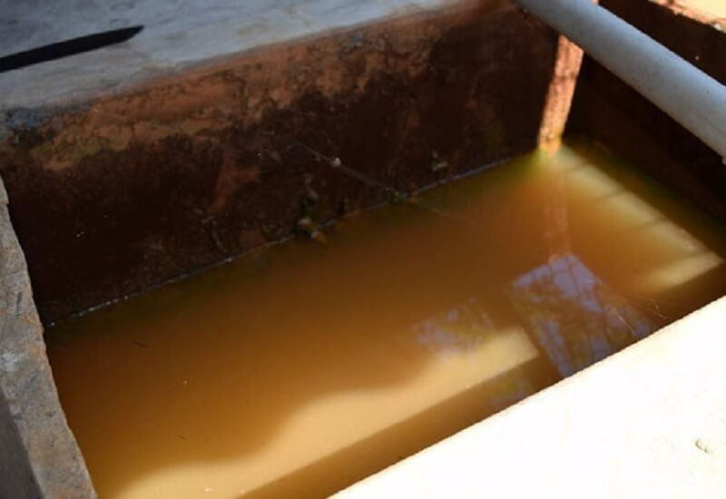 Tác hại của nước nhiễm phèn