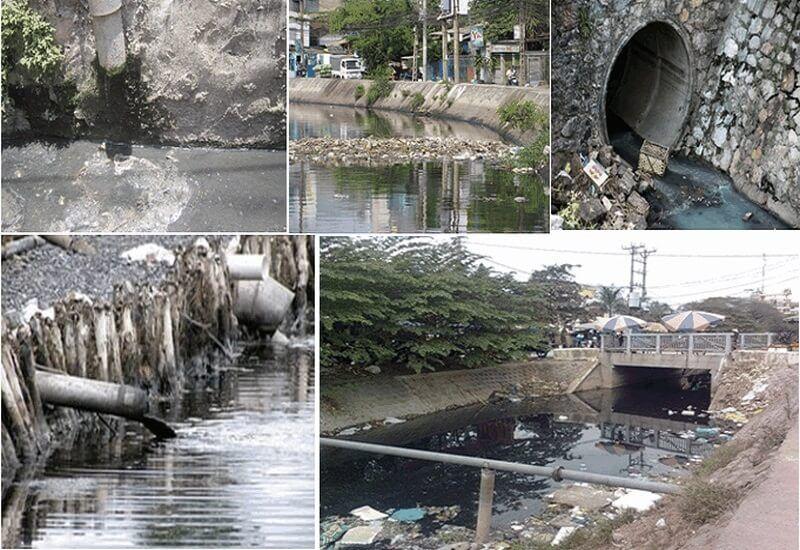 Tác hại của nước thải sinh hoạt