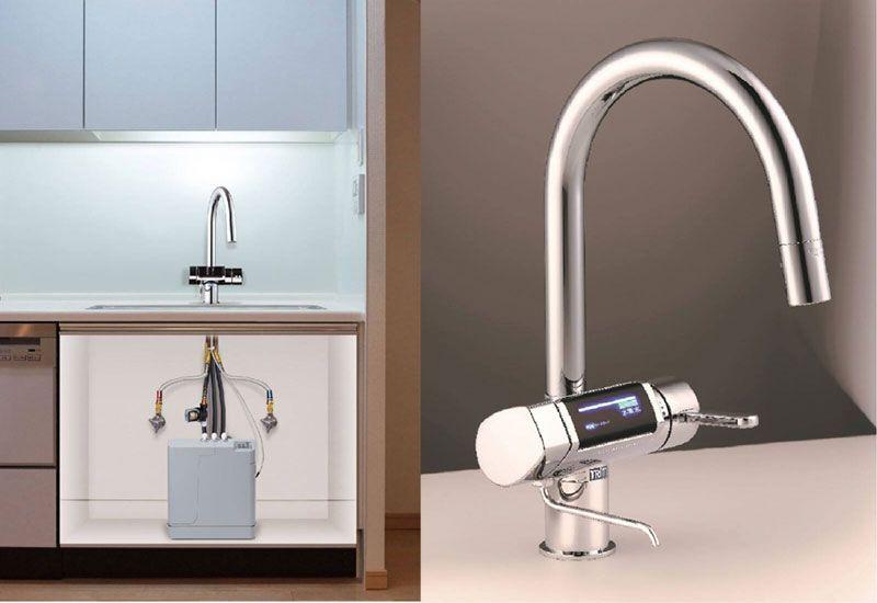 Ứng dụng máy lọc nước Trim Ion Gracia