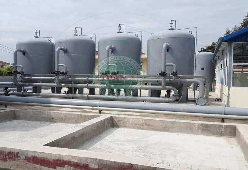 Hệ thống xử lý nước sạch cho khu công nghiệp tại Toàn Á
