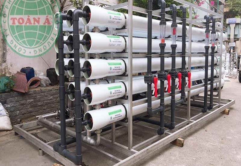 nguyên lý hoạt động của hệ thống lọc nước DI