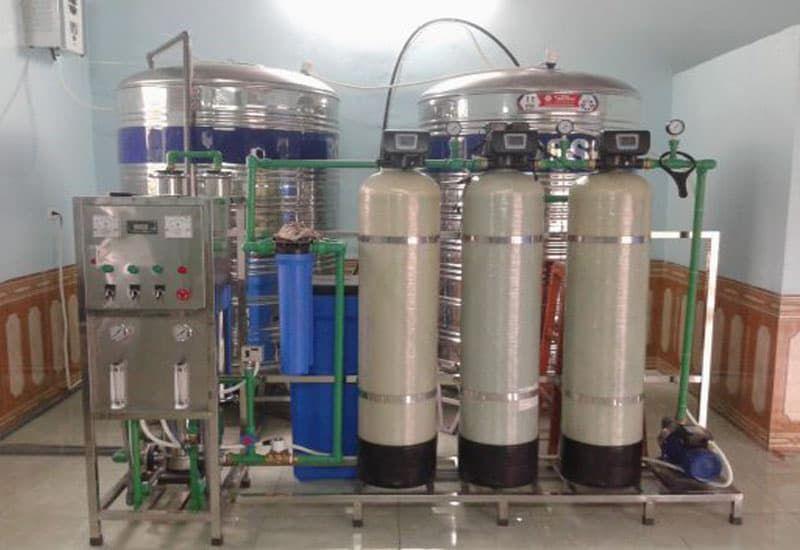 Công dụng của hệ thống xử lý nước mặn