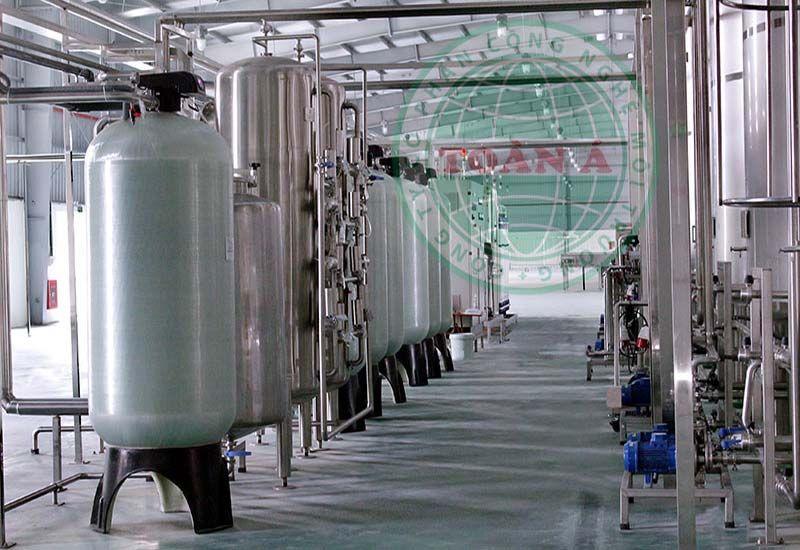 Hệ thống xử lý nước khoáng