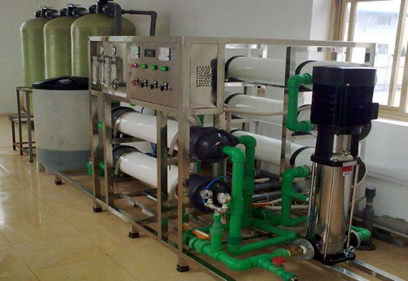 Hệ thống xử lý nước nhiễm mặn