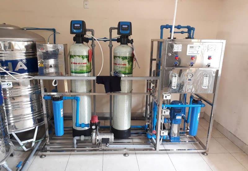 Lợi ích của hệ thống lọc nước đóng chai