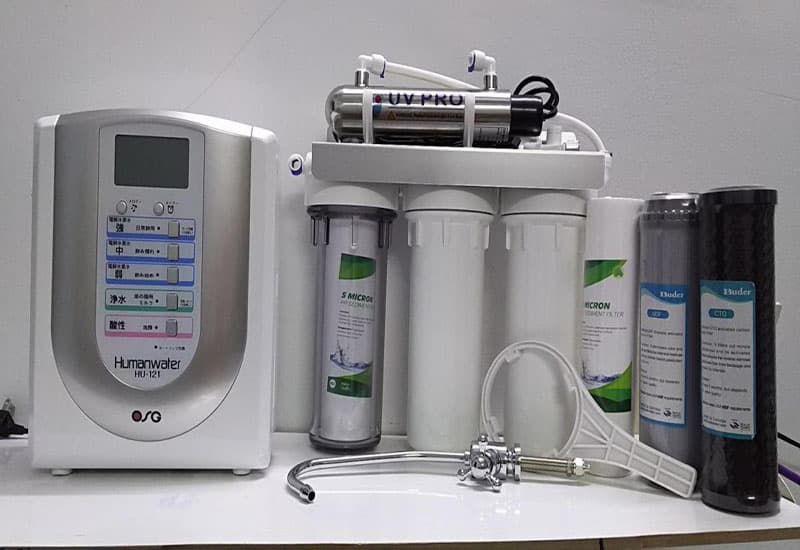 máy lọc nước nội địa Nhật Bản