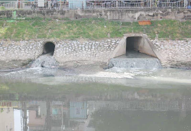 Nơi tiếp nhận nguồn nước thải sinh hoạt
