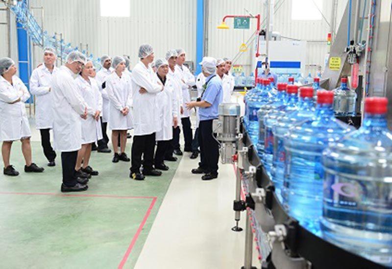 Quy trình sản xuất nước tinh khiết