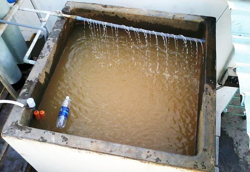quy trình thực hiện làm bể lọc nước