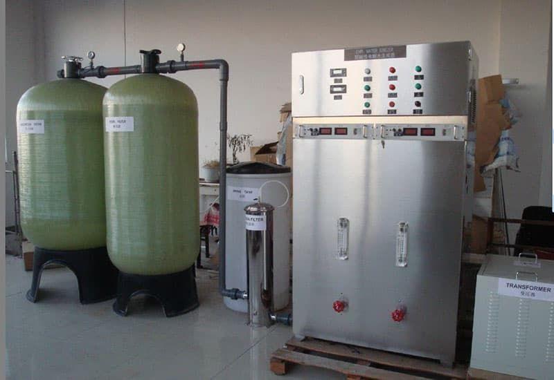 Thông số kỹ thuật của máy lọc nước ion kiềm công nghiệp