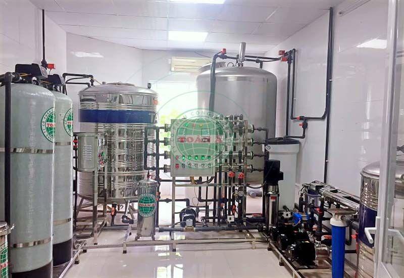 Xử lý nước RO trong y tế phòng khám
