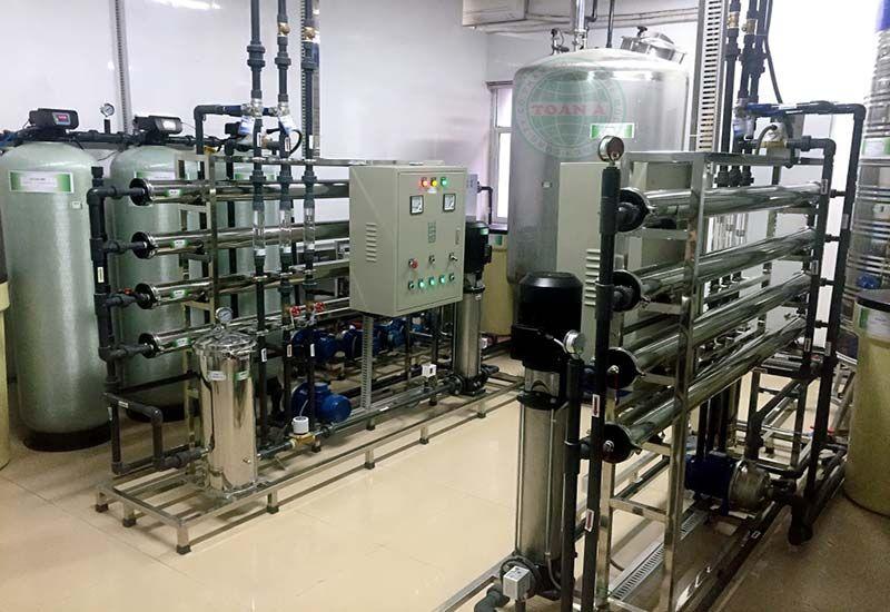 Xử lý nước RO trogn y tế