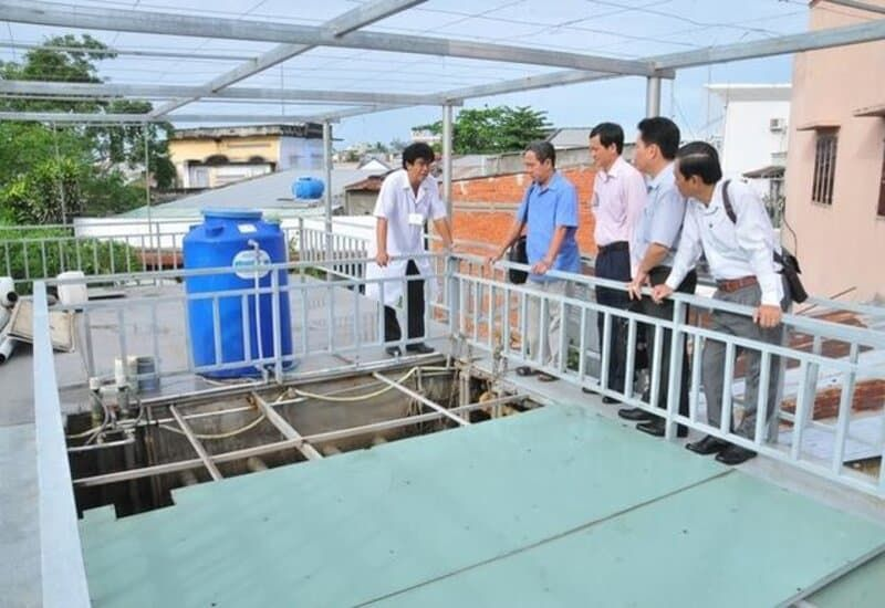 quy định xử lý nước thải y tế